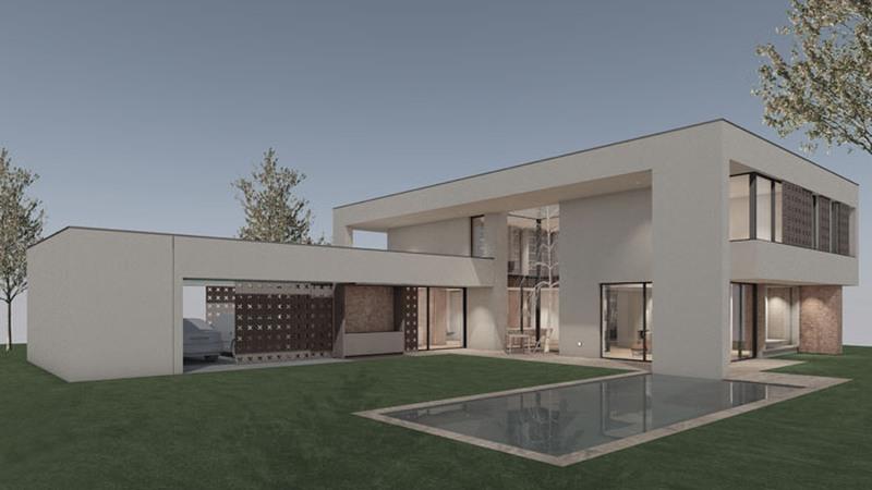 V biroju BAZAA® izdelali BIM model stanovanjske vile