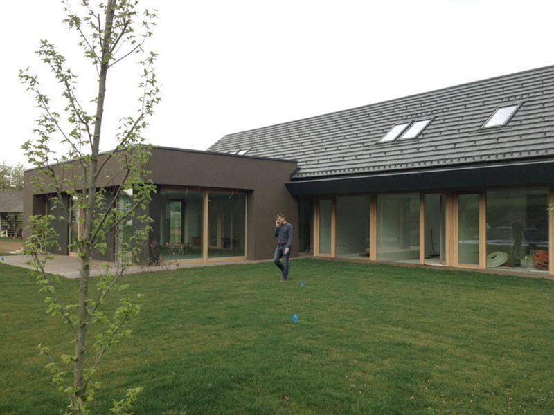 Končana gradnja vile v Trebnjem