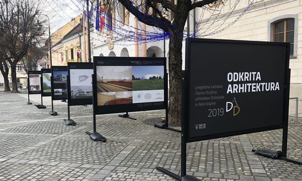 BAZAAR že tretjič na bienalni razstavi DAD (Društvo arhitektov Dolenjske in Bele Krajine)